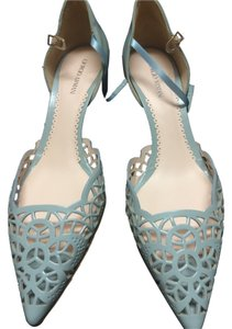 Giorgio Armani light blue Pumps