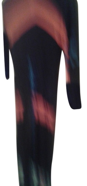 Preload https://img-static.tradesy.com/item/10237441/multicolored-black-with-red-and-blue-small-vintage-viscose-mid-length-night-out-dress-size-6-s-0-1-650-650.jpg