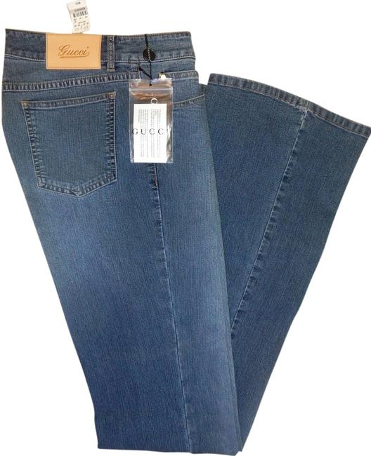 Item - Light Blue Wash With Charm It 40 (Us 4) Flare Leg Jeans Size 28 (4, S)