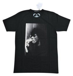 Hysteric Glamour Johnny Thunders Hurt Me T-shirt Punk Music Rock N Roll Rock & Roll Organic Cotton Cotton T Shirt Black