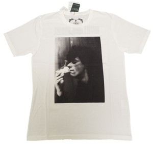 Hysteric Glamour Johnny Thunders T-shirt Rock & Roll Punk T Shirt Off White