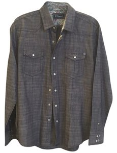7 Diamonds Button Down Shirt Denim