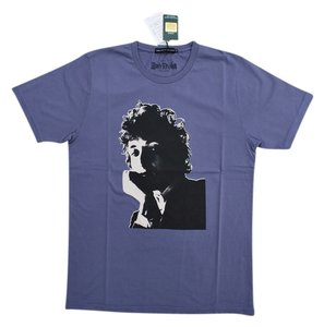 Hysteric Glamour Bob Dylan Dylan Folk Rock Rock And Roll Rock N Roll Rock & Roll Organic Cotton Music T Shirt Purple