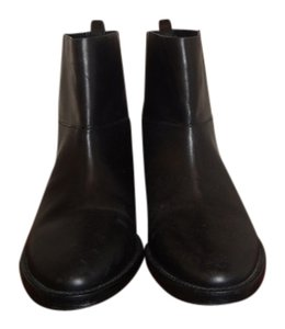 Theory Leather Size 37 Black Boots
