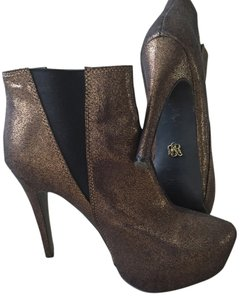 Rock & Republic glitter gold Boots