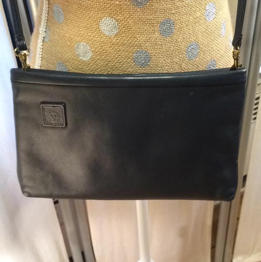 Anne Klein Vintage Leather Purse Shoulder Bag