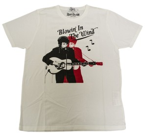 Hysteric Glamour Bob Dylan Dylan T Shirt Cream