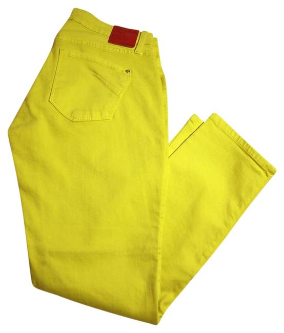 Preload https://item1.tradesy.com/images/james-jeans-canary-yellow-light-wash-couture-collection-capricropped-jeans-size-29-6-m-10240150-0-3.jpg?width=400&height=650