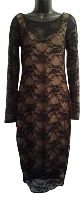 Preload https://item2.tradesy.com/images/b44-dressed-black-lace-sheath-mid-length-night-out-dress-size-8-m-10240501-0-1.jpg?width=400&height=650