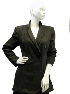 Emporio Armani Fancy Cute Professional Olive Green Blazer