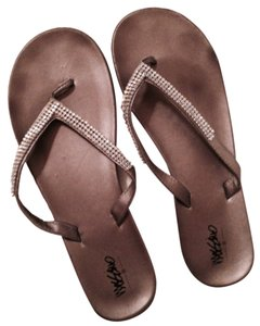 Mossimo Supply Co. Silver Sandals