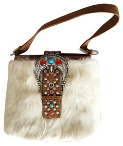 Fur Purse Christmas Shoulder Bag