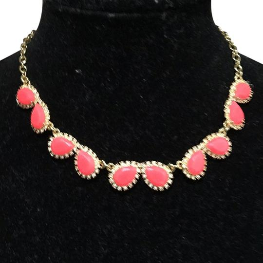 Preload https://item4.tradesy.com/images/kate-spade-pinkgold-chunky-crystal-drops-framed-pave-necklace-10241968-0-1.jpg?width=440&height=440