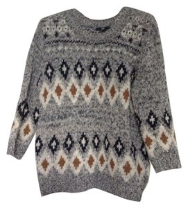 H&M Tribal Pattern Hm Sweater