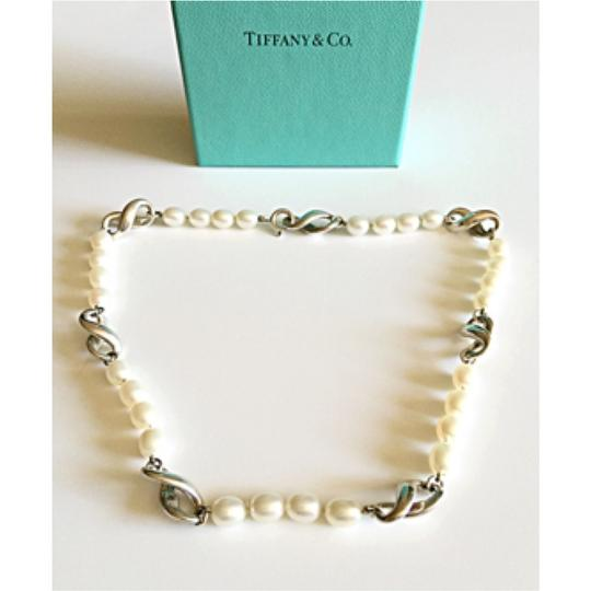 Tiffany & Co. Figure 8 Infinity Fresh Water Pearl Necklace
