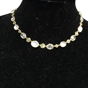 Judith Jack Judith Jack Pink And Clear Stone Choker