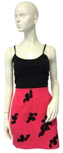 Christian Lacroix Mini Skirt Pink, black