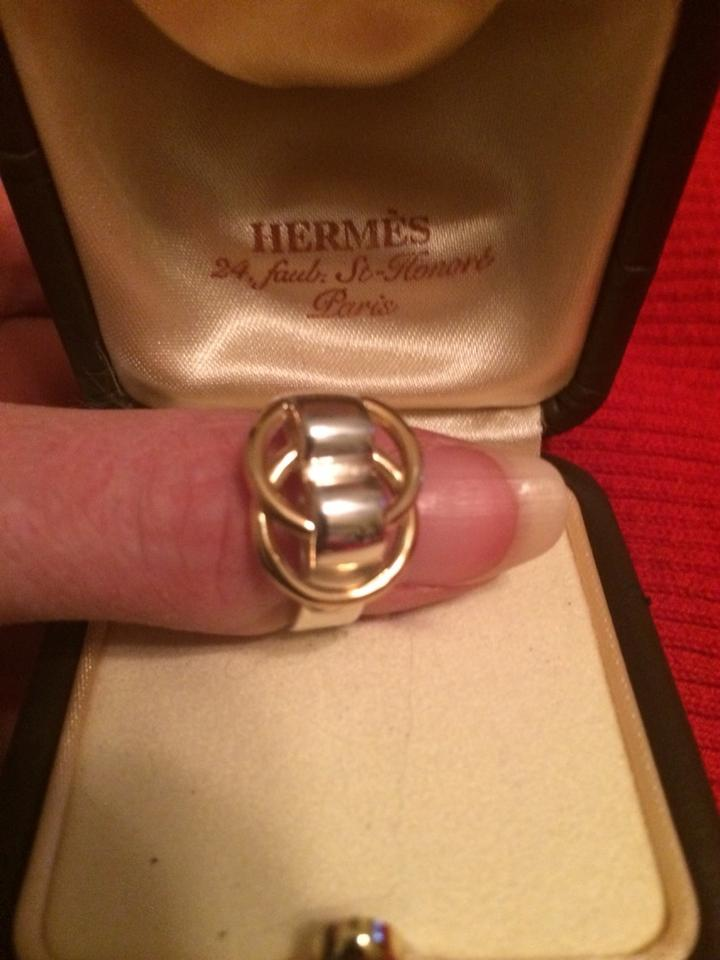 Hermès 14k Gold Sterling Silver Price Reduced Promise Rings 86 Off Retail