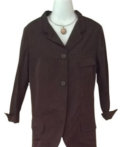 Jil Sander Dark Brown Blazer
