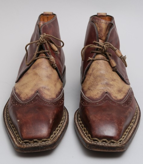 Bettanin and Venturi Brown Boots