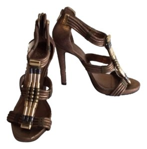 Tory Burch Bronze copper Platforms
