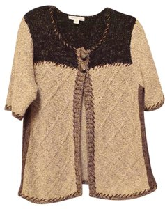 Coldwater Creek Cardigan Textured Sweater