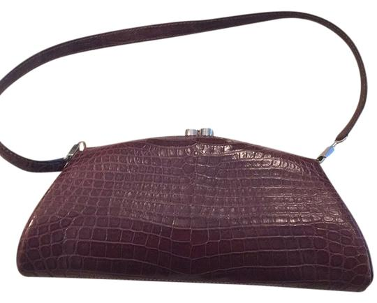 Preload https://img-static.tradesy.com/item/10243411/colombo-chocolate-brown-baby-croc-clutch-0-1-540-540.jpg