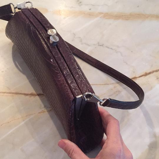 Colombo Chocolate Brown Clutch