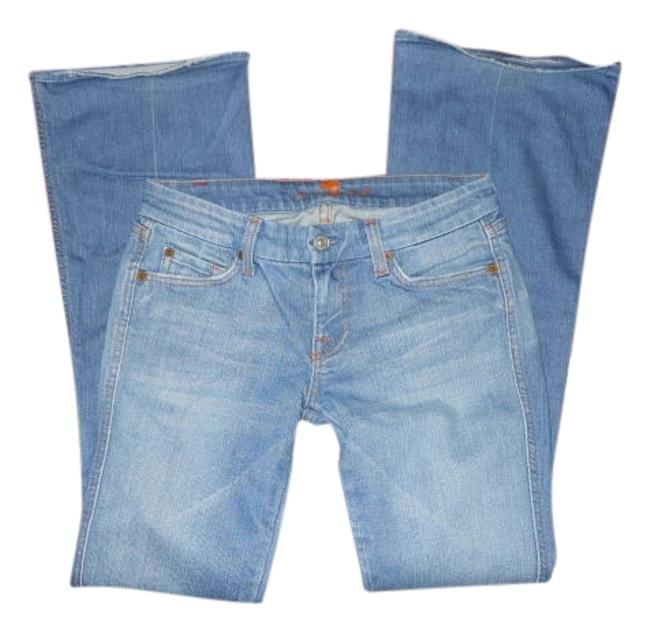 Preload https://item1.tradesy.com/images/7-for-all-mankind-blue-light-wash-a-pocket-jeansstyleu130182u-182u-boot-cut-jeans-size-26-2-xs-102435-0-1.jpg?width=400&height=650