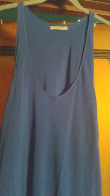 Item - Dark Blue Flared Long Night Out Dress Size 10 (M)
