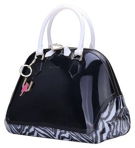 SABOHEMIAN Satchel in Zebra/Black/Beige