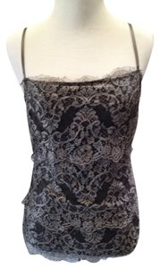 Ralph Lauren Black Label Lace Chic Cami Top Gray