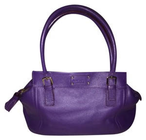 Kate Spade Satchel in Royal Purple