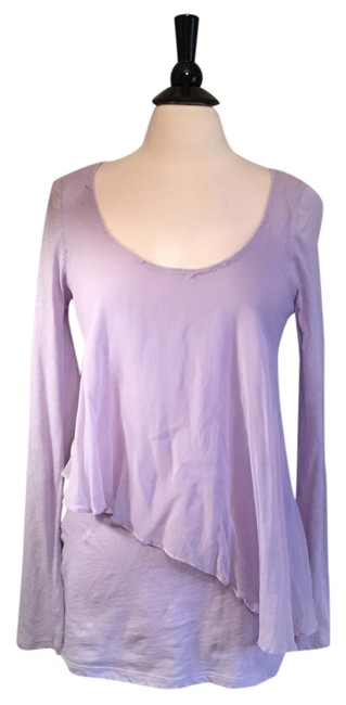 Preload https://item4.tradesy.com/images/elizabeth-and-james-lilac-tee-shirt-size-6-s-10244683-0-3.jpg?width=400&height=650