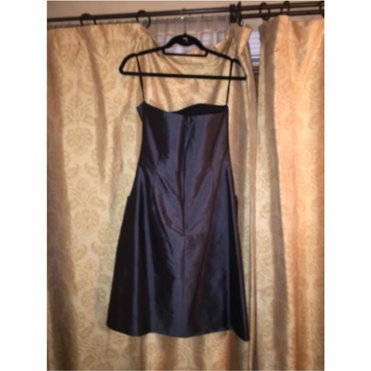 Alfred Sung Ebony Traditional Bridesmaid/Mob Dress Size 6 (S)