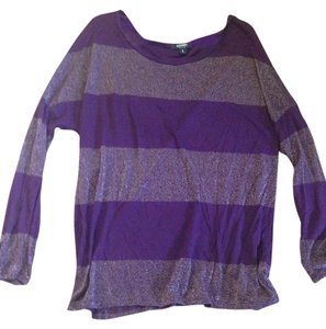 Old Navy Glitter Top Purple
