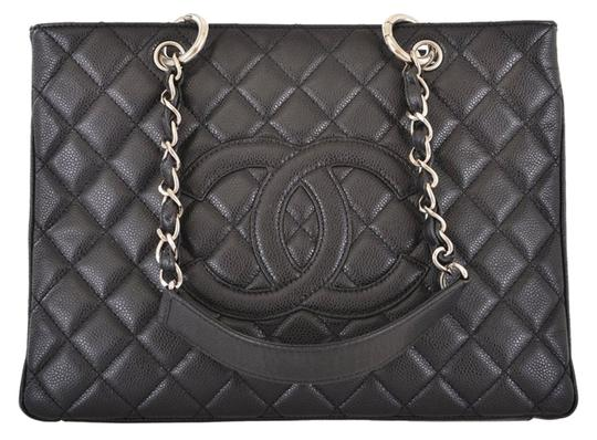 Preload https://item4.tradesy.com/images/chanel-shopping-tote-grand-black-caviar-leather-tote-10245808-0-1.jpg?width=440&height=440