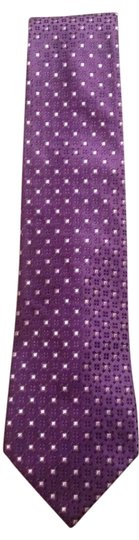 Preload https://item5.tradesy.com/images/sean-john-purple-with-small-white-squares-silk-tie-in-excellent-condition-10245859-0-1.jpg?width=440&height=440