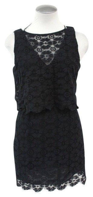Preload https://img-static.tradesy.com/item/1024634/rebecca-minkoff-black-lacy-floral-jemme-tier-above-knee-night-out-dress-size-10-m-0-0-650-650.jpg