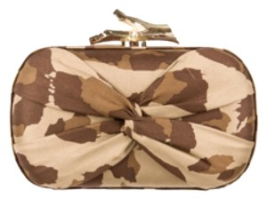 Diane von Furstenberg Brown Clutch
