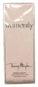 Womanity body cream 6.9oz Thierry Mugler WOMANITY Perfumed BODY LOTION 6.9 oz WOMAN