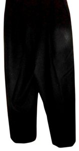 Nordstrom Pants Wool Lined Capris Black