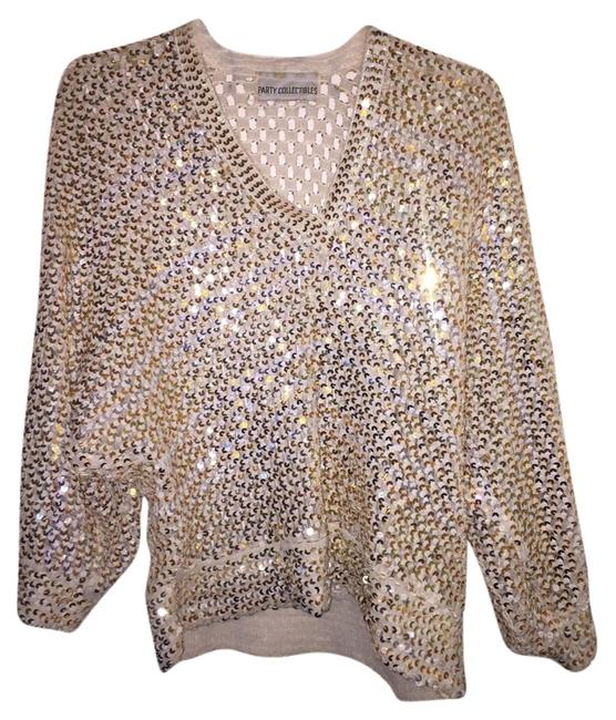 Preload https://img-static.tradesy.com/item/10247725/white-and-gold-night-out-top-size-12-l-0-2-650-650.jpg