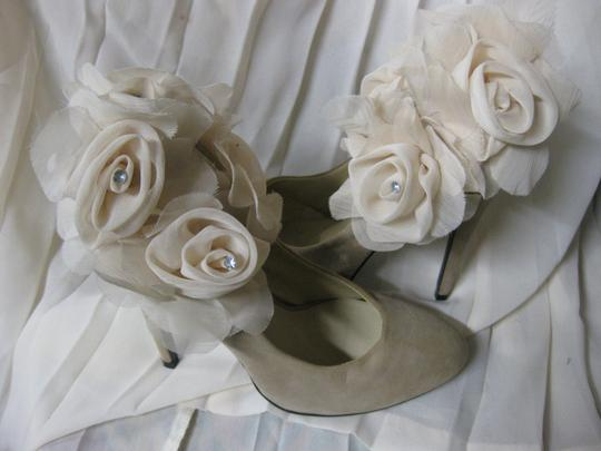 Other Decorated Wedding One Of A Kind cream/light taupe Pumps