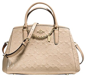 Coach Satchel in GOLD/PLATINUM