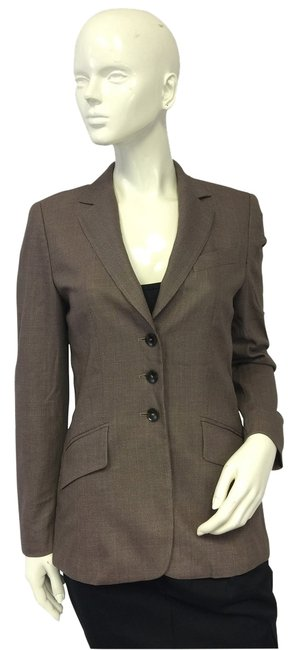 Preload https://item4.tradesy.com/images/escada-brown-beauty-34-blazer-size-os-one-size-10249093-0-2.jpg?width=400&height=650