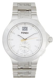 Fendi New Fendi High Speed Silver-Tone Dial Timepiece, 43mm