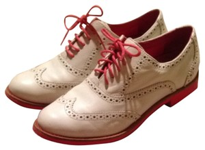 Cole Haan Cream And Pink Flats