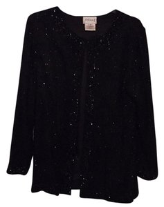 Top Black Beaded
