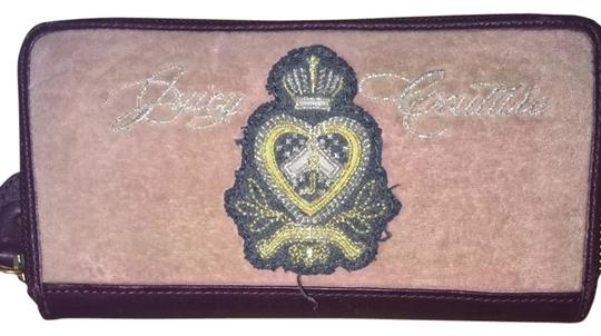 Juicy Couture Maroon/Pink Clutch
